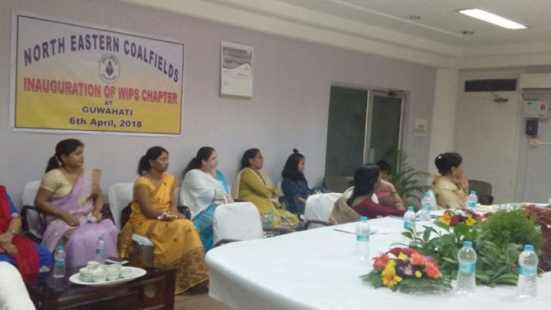 Inauguration of the WIPS chapter in Guwahati was held on 6 th April '18